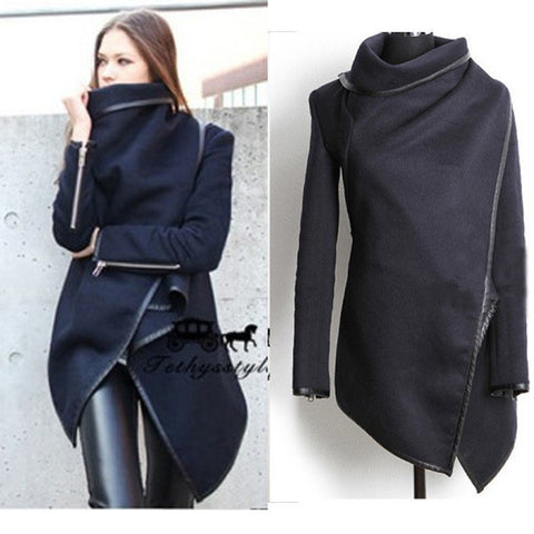 CUTE SHOW BODY FASHION IRREGULAR COATS
