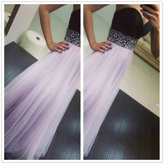 CUTE STRAPLESS PURPLE CHIFFON DRESS