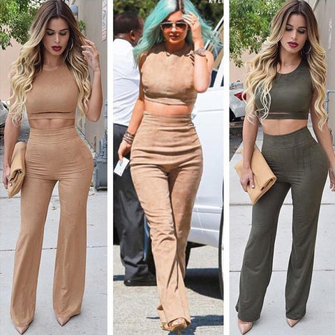 HOT CUTE TWO PIECE JUMPSUIT
