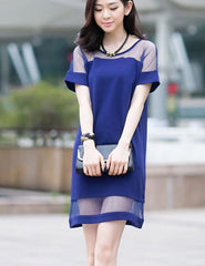ON SALE CUTE FASHION NET DRESS