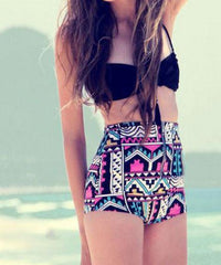 ON SALE RETRO VINTAGE GEOMETRIC CUTE BIKINI