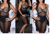 FASHION HOT NET LACE HOLLOW OUT SEXY DRESS
