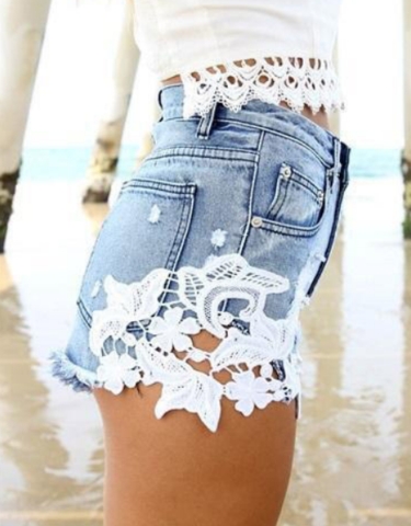 ON SALE FASHION HOT CUTE LACE SHORTS