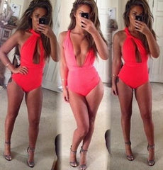THREE WAYS WEAR SEXY ONE PIECE BIKINI