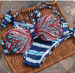 PRINTED BIKINI CUTE TOTEM SWIMWEAR