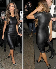 CUTE SHOW BODY BLACK DRESS