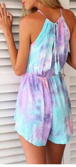 HOT COLORFUL RAINBOW JUMPSUIT PLAYSUIT ROMPER