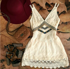 HOT CUTE LACE DRESS FASHION