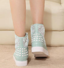 FASHION CUTE LACE HOT SHOES
