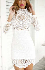 ON SALE CUTE TOTEM LACE DRES