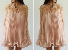 FASHION RIVET SHINING CUTE DRESS