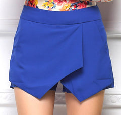 Hot irregular shorts skirts