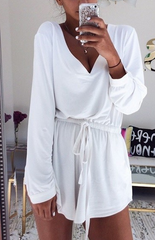 HOT LONG SLEEVE ROMPER