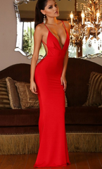 HOT TWIST SEXY BACKLESS LONG DRESS