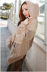 HOT CUTE COAT WITH CAP FASHION