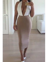 SEXY V HOT ONE PIECE DRESS