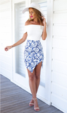 HOT CUTE TWO PIECE DRESS
