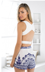 SLEEVELESS BACKLESS SEXY SMALL OF CULTIVATE ONE'S MORALITY TOP