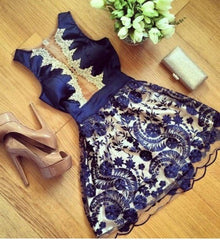 HOT LACE SHOW BODY CUTE DRESS