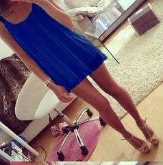 HOT CUTE CHIFFON VEST DRESS