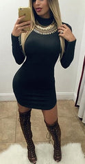 HOT CUTE SHOW BODY DRESS