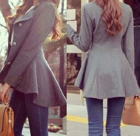 FASHION IRREGULAR CUTE COATS