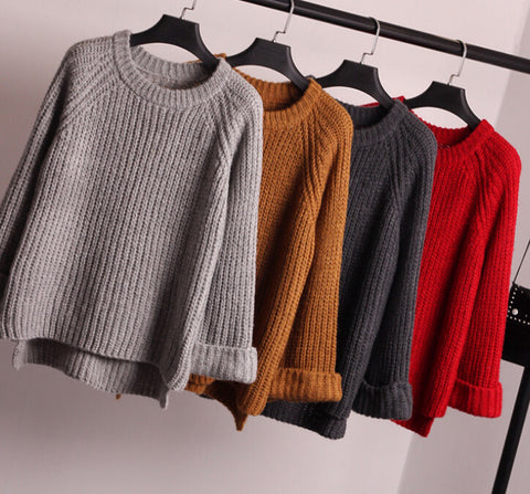 CUTE LOOSE FASHION SWEATER
