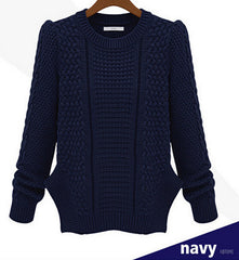 FASHION WOVEN WARM KNIT SWEATER HIGH QUALITY NOT THE POOR