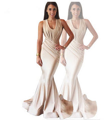 ELEGANT SHOW BODY LONG DRESS