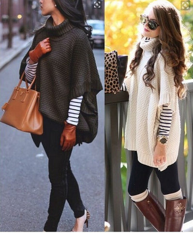 FASHION BAT SLEEVE SWEATER