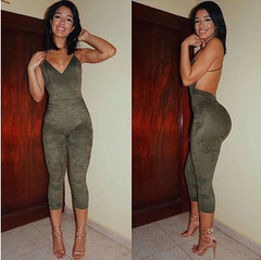 HOT FASHION GREEN JUMPSUIT