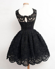 HIGH COLLAR VEST LACE DRESS