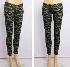 FASHION COLORFUL GREEN PANTS High elasticity and High quality