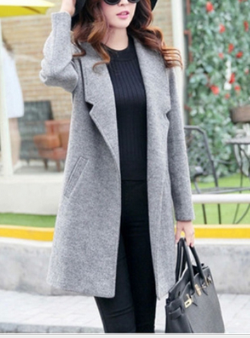FASHION SHOW BODY CUTE COAT CARDIGAN