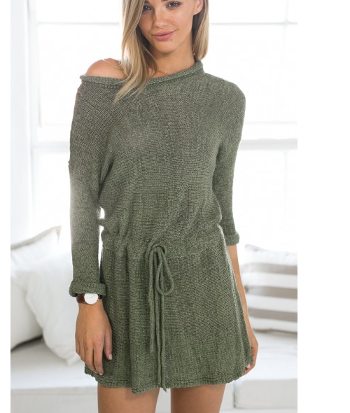 FASHION CUTE LOOSE DRESS
