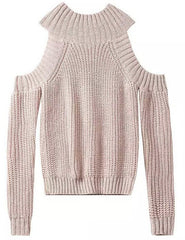 CUTE CLASSY OFF SHOULDER SWEATER HIGH QUALITY BUT SHORT STYLE