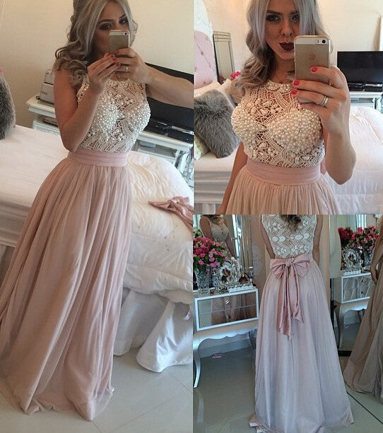 HOT cute long lace dress