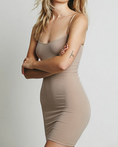 cute straps sexy show body short dress