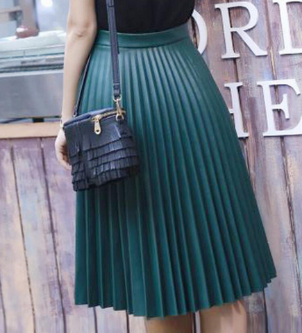 FASHION HOT PU SKIRT HIGH QUALITY