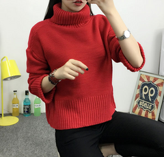 CUTE FASHION SHORT STYLE SWEATER WARM