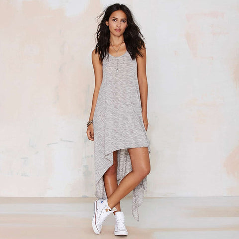 HOT CUTE IRREGULAR DRESS