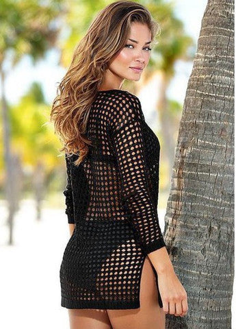 CUTE BIKINI SMOCK DRESS