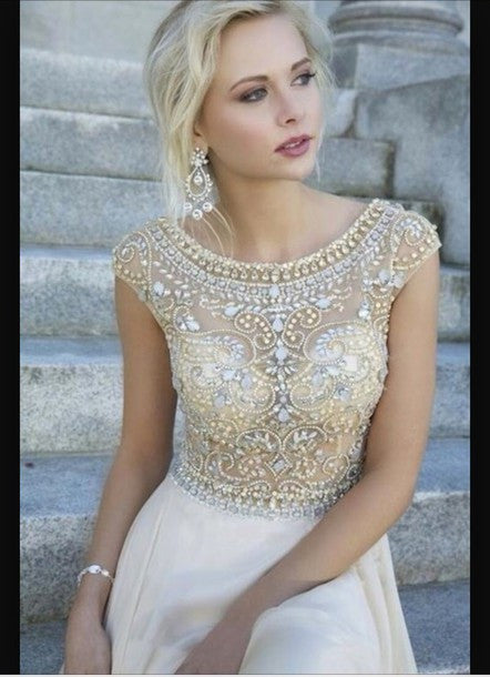 ON SALE HOT HANDMADE SHINING RHINESTONE DRESS