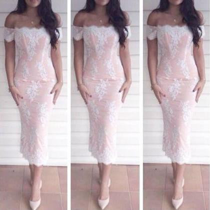HOT ONE WORD LACE DRESS