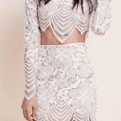 LACE TWO PIECE DRESS