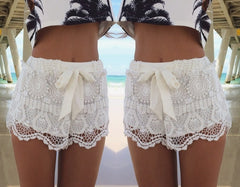 CUTE LACE FASHION SHORTS