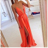 FASHION DEEP V CUTE DESIGN DRESS