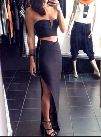 FASHION TWO PIECE DRESS