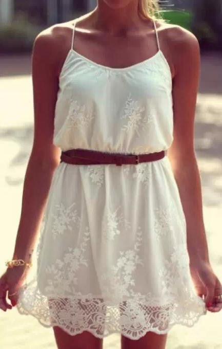CUTE LACE FASHION SEXY DRESS