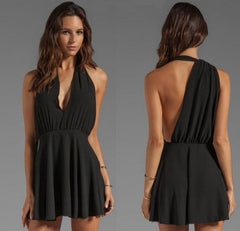 SEXY V CUTE DESIGN BACK DRESS